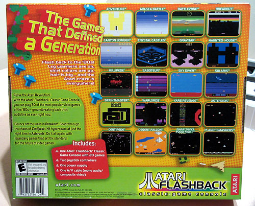 Blog posts backuprt - Atari flashback classic game console game list ...